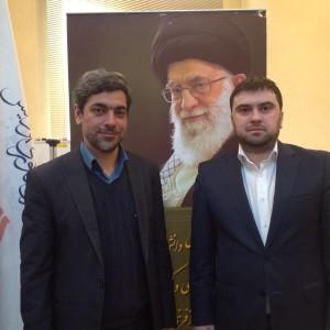 Генеральный директор технологического парка Иранская силиконовая долина AminReza khalegian